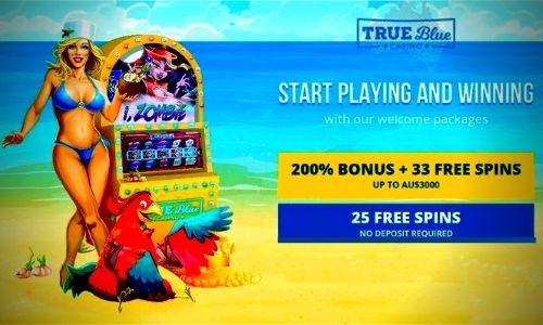 Trueblue Casino Bonus