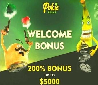 Pokie Spins Casino Welcome Bonus
